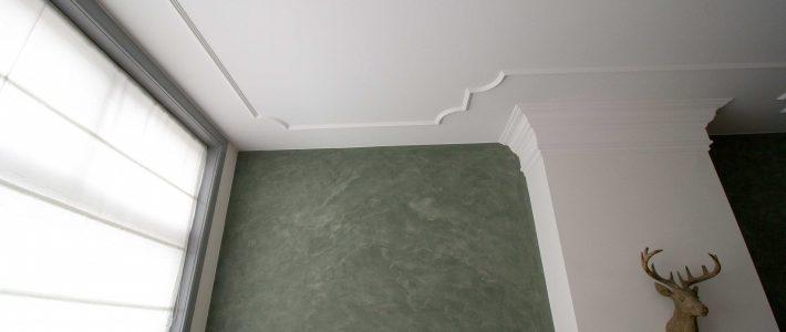 Effino, betonciré en hoogglanslak.